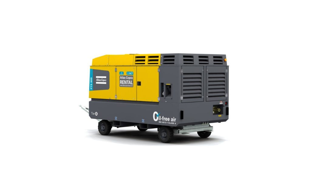 Portable Rental Air Compressor