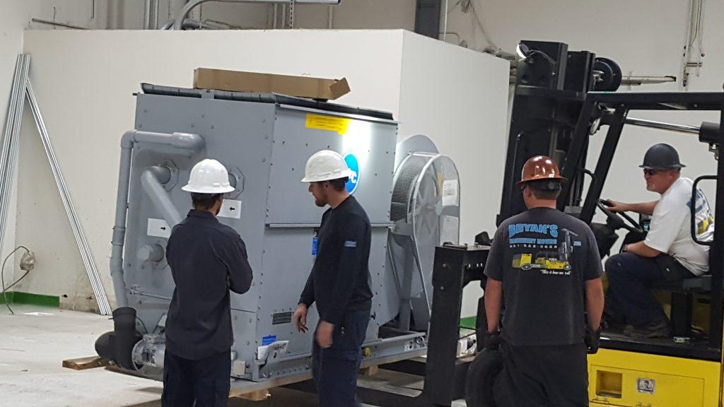 Ingersoll Rand Compressor installation