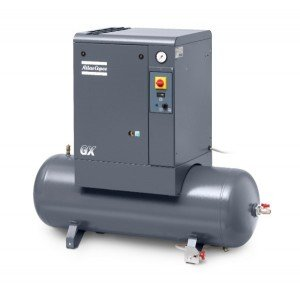 GX4 GX5 Tank Mounted Compressor