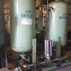 Used Aullair Desiccant Air Dryer