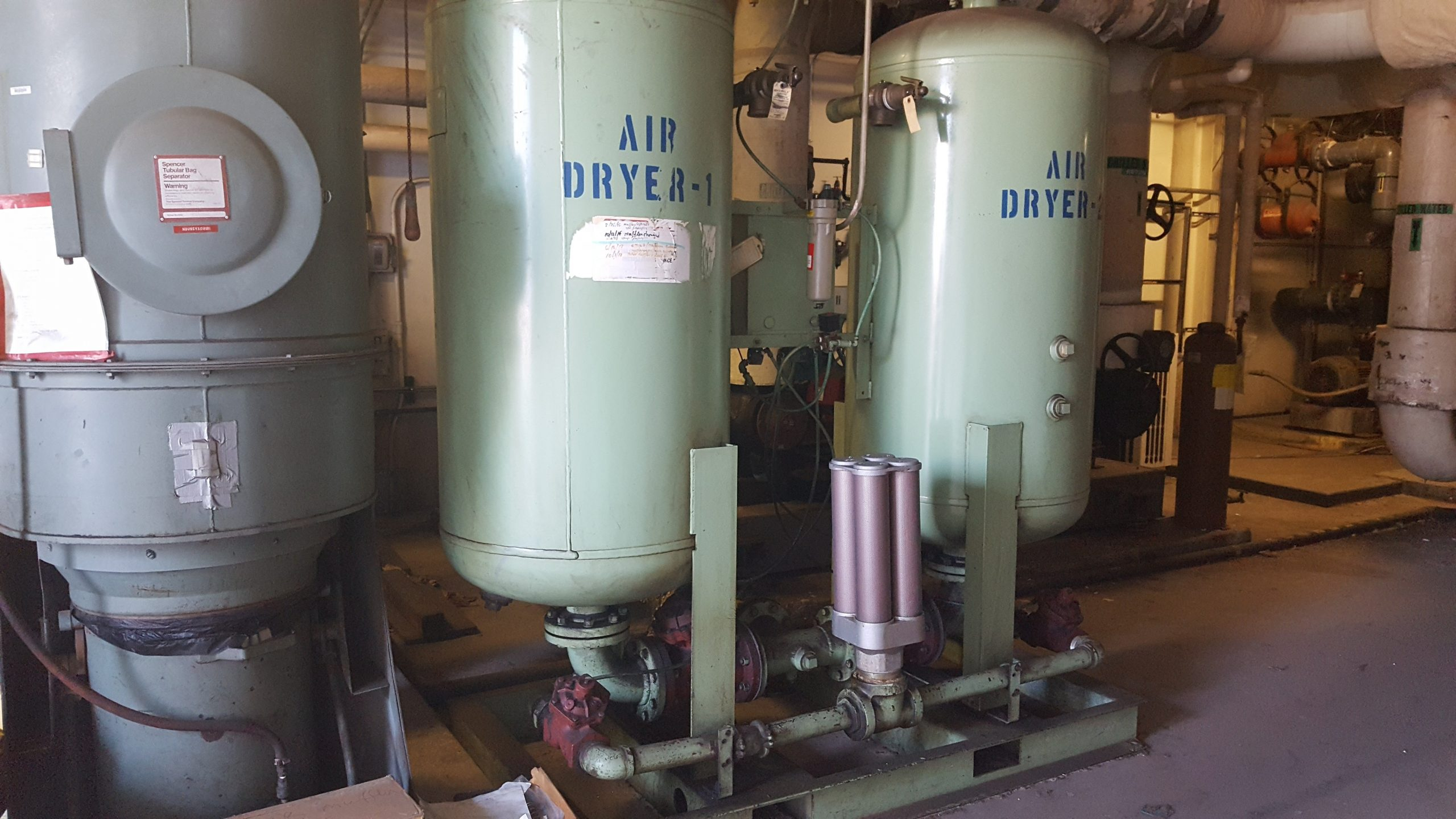 Used Aullair Desiccant Air Dryer