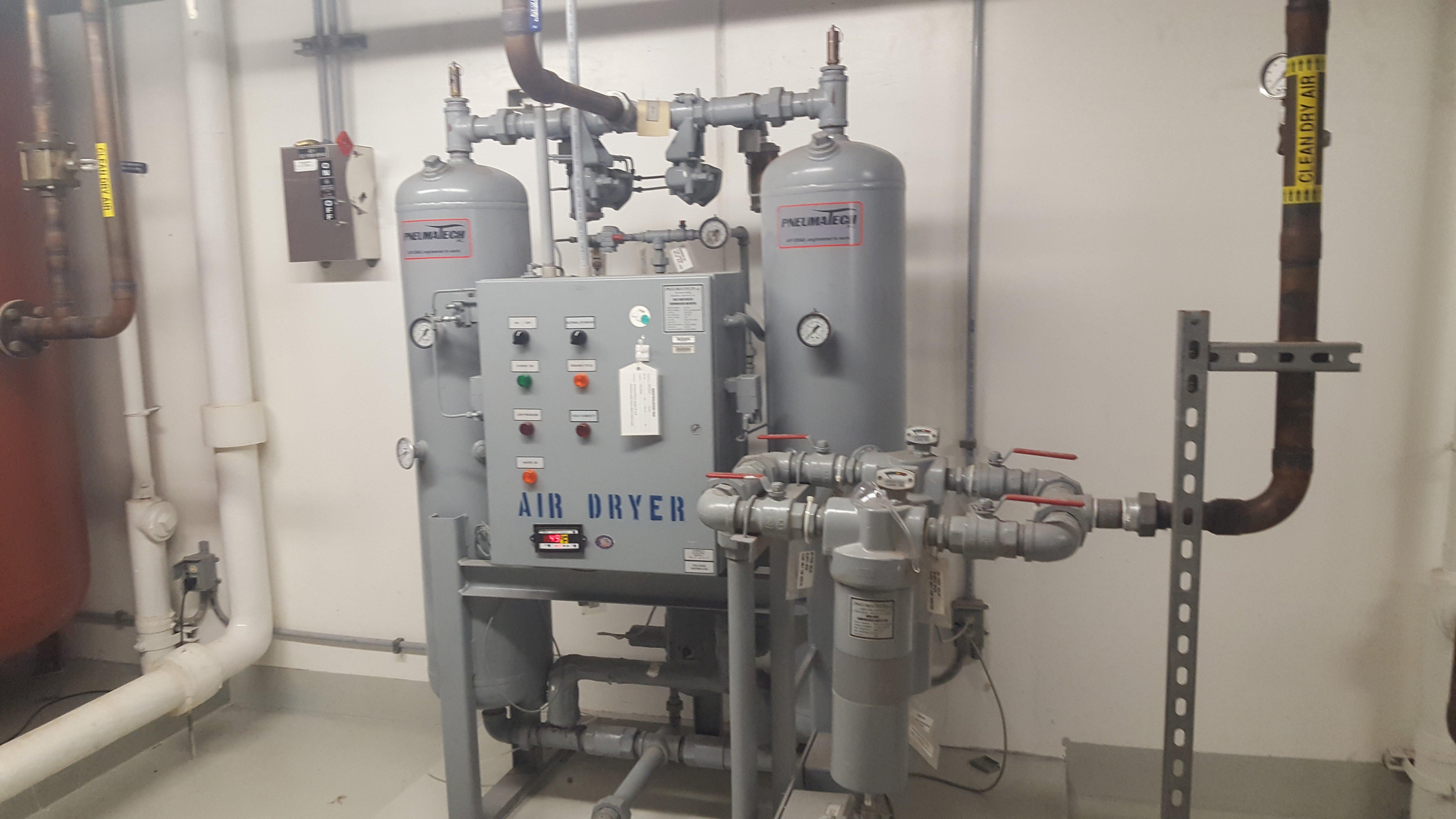 200 CFM Used Air Dryer | Pneumatech Desiccant Air Dryer PE-200